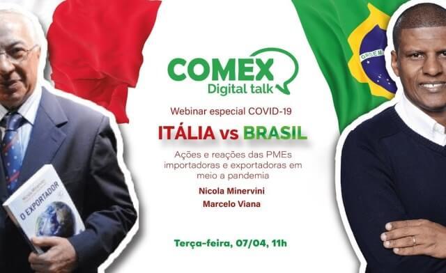Italia x Brasil - Ações e reações dos governos e PMEs importadoras e exportadoras em meio a pandemia